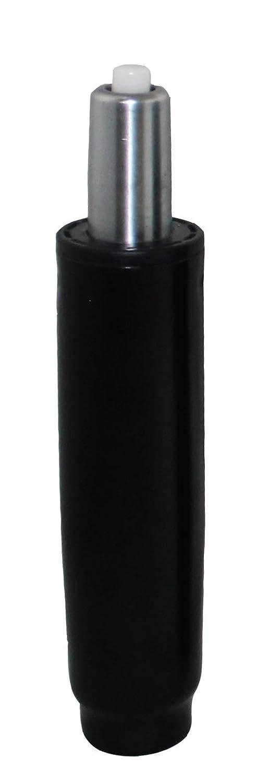 BiMi nero 17, 8cm dritto Elevazione a gas per una sedia da ufficio CHRG-22107-BLK