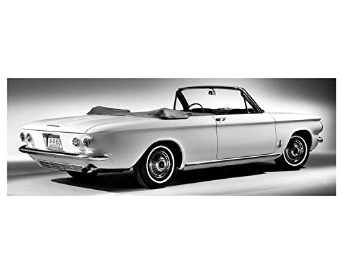 1963 Chevrolet Corvair Monza Convertible Automobile Photo Poster by AutoLit