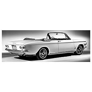 1963 Chevrolet Corvair Monza Convertible Automobile Photo Poster
