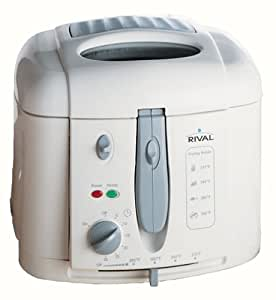 Amazon.com: Rival CF151WD Chef's Fry Cool Wall Deep Fryer