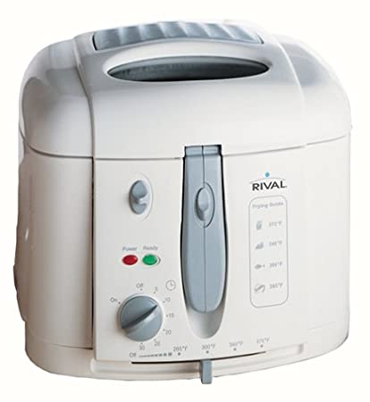 amazon com rival cf151wd chef s fry cool wall deep fryer rival rh amazon com rival deep fryer manual cf 105 pdf rival wing it deep fryer manual