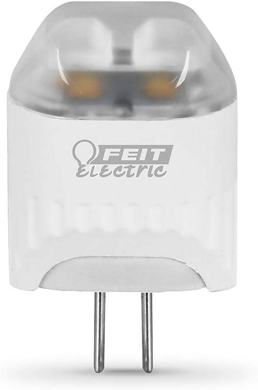 """Feit Electric LVG4/LED 20W Equivalent 2-Watt G4 Base 12-Volt Capsule Specialty Landscape Gardening Bi-Pin LED Light Bulb, 1.6""""H, 3000k Warm White"""