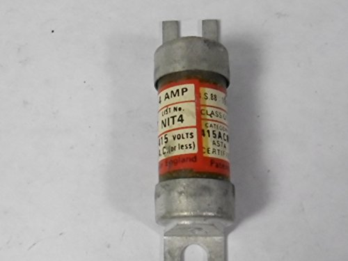 Engish Electric NIT-4 Fuse 4Amps 600Volts