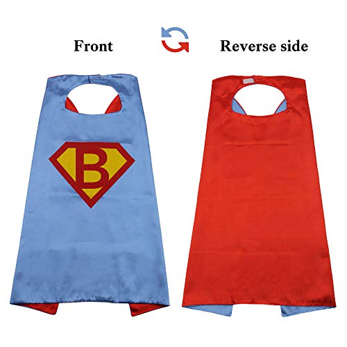 SZD Superman Cape Toddler,Superman Costume Kids,Superman Gift Boy,Superman Outfit Red]()
