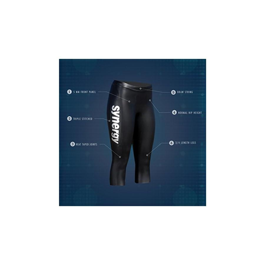 Synergy Triathlon Wetsuit Pants Women's EpicSpeed Neoprene Pants For Open Water Swimming