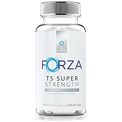 FORZA T5 Super Strength - Strong Diet & Fitness Supplement For Safe Weight Loss - 90 Capsules
