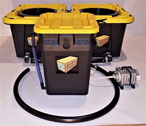 Root Box Hydroponics Grow 2 System Current Recirculating Deep Water Culture RDWC