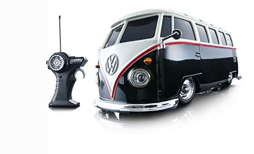 Maisto R/C 1:24 Scale Volkswagen Van Samba Radio Control Vehicle (Colors May Vary)