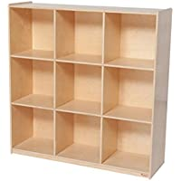 Wood Designs WD50900 (9) Big Cubby Deep Storage, 49 x 48 x 15 (H x W x D)
