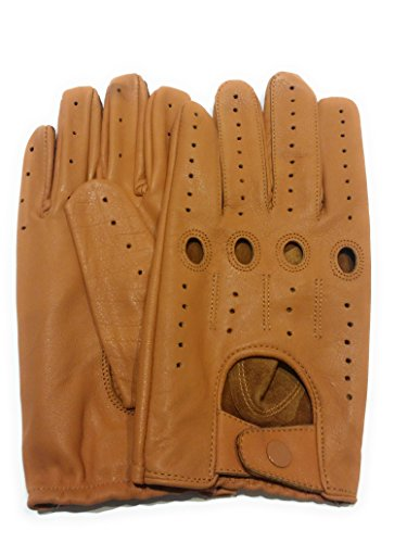 Leather Racing Gloves - 5