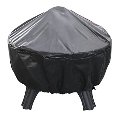 Landmann Garden Series 28 in. Round Protective Fire Pit Cover