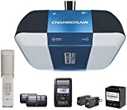 Chamberlain Group B1381 Bright LED Lighting Smartphone-Controlled Ultra-Quiet and Strong Belt Drive Garage Doo