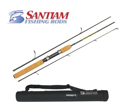 Santiam Fishing Rods Travel Rod 3 Piece 5'6