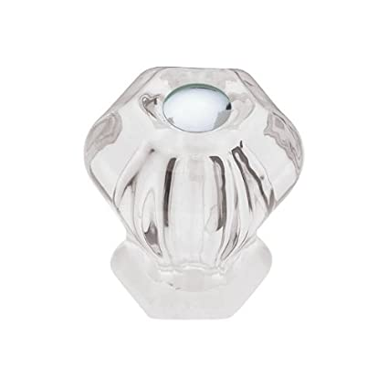Superbe Liberty PN0238 CLR C 30mm Victorian Glass Kitchen Cabinet Hardware Knob