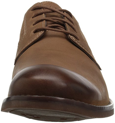 Mens Rocketter Wynstin Plain Toe Oxford Tobacco