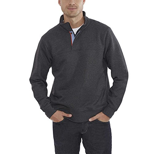 orvis-classic-collection-signature-sweatshirt-mock-neck-large-charcoal