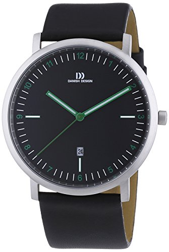 Danish Design - Wristwatch, Quartz Analog, Leather, Men