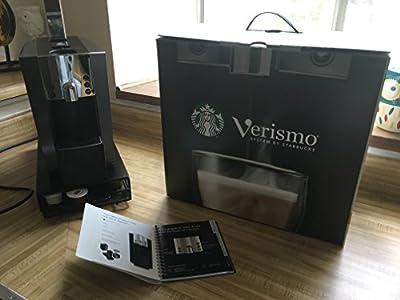 Starbucks Verismo 600 Brewer For Espresso Coffee Latte - Graphite