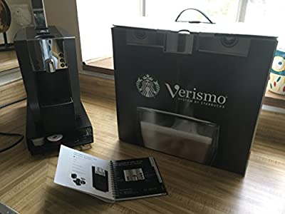 Verismo System 600 by Starbucks Silver Starbucks Verismo 600 Brewer For Espresso Coffee Latte – Graphite – Would give it six stars if possible