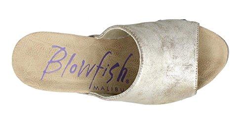 Blowfish Kvinna Värd Mule Guld