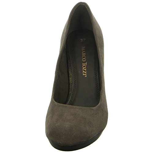 Marco tozzi 2–2- 22411–35–324, da.-pumps, 324PEPPER/gris