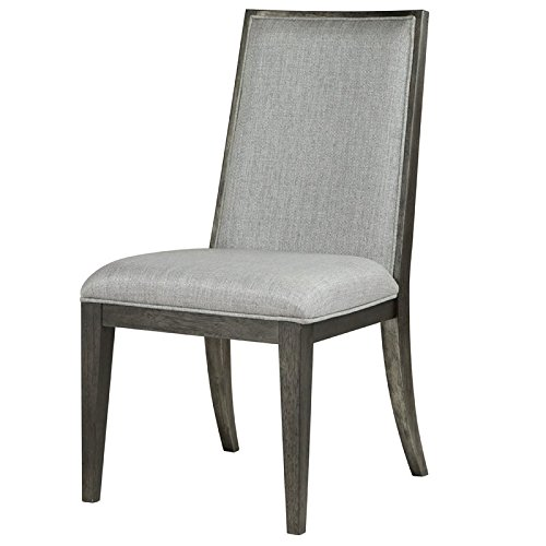 Magnussen Proximity Heights Dining Side Chair in Smoke Anthracite - Set of 2