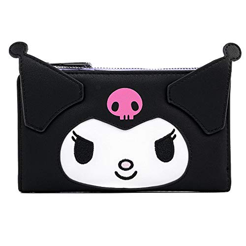 Loungefly-Sanrio-Hello-Kitty-Kuromi-Cosplay-Flap-Wallet