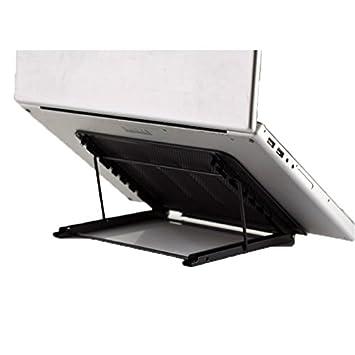 Remarkable Vanra Metal Mesh Tablet Stand Adjustable Laptop Stand Desk Folding Tray Holder Dock Black Download Free Architecture Designs Boapuretrmadebymaigaardcom