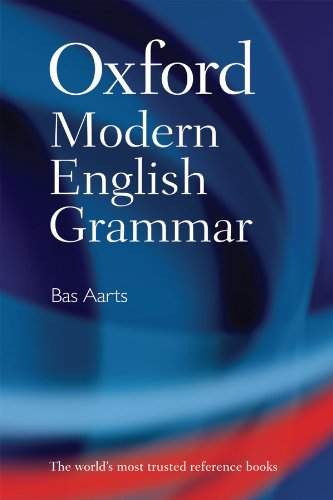 Oxford Modern English Grammar cover