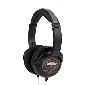 Koss UR55 On-Ear Headphones Pulso Estudio para el iPod, iPhone, MP3 y Smartphone - Negro