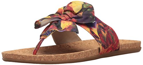 Floral REACTION Cole Women's Slim Gal Flat Kenneth Sandal z07ZxZ