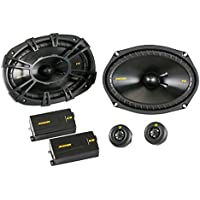 Kicker 40CSS694 CSS69 6x9 6x9 450 Watt 4-Ohm Car Audio Component Speakers