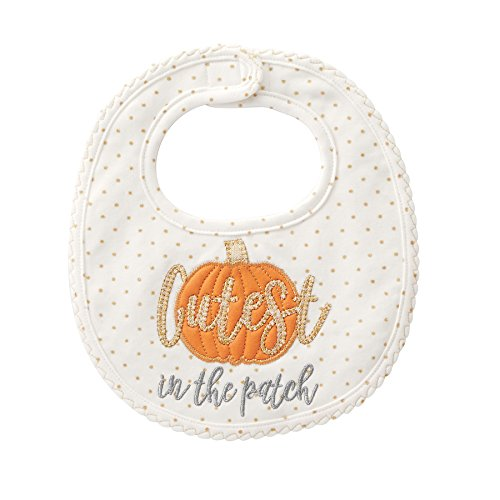 Mud Pie Cutest Pumpkin Applique Bib]()