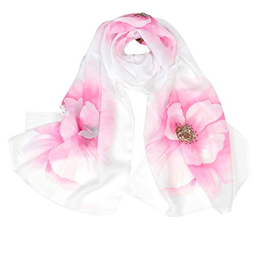 Womens Infinity Scarf with Pocket Travel Scarfs with Zipper Pockets Trendy Print Scarves Winter Convertible Scarf HunYUN for $<!--$0.68-->