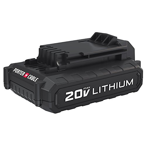 PORTER-CABLE PCC681L 20V MAX Lithium Ion Compact Battery (Best 20 Volt Lithium Drill)