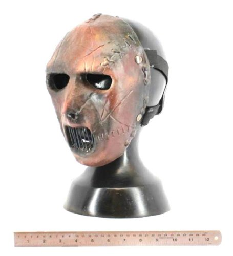 [Slipknot Paul Gray Halloween Mask Prop] (Jigsaw Costume Face Paint)