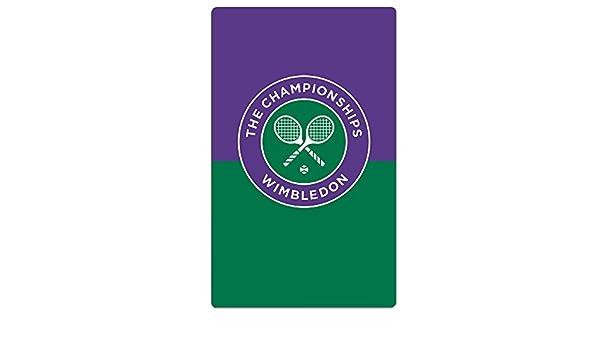 zxhckh adultos el Campeonato de Wimbledon Logo toalla de playa/31.5 * 51.2