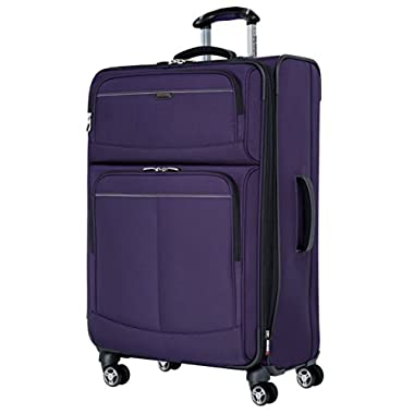 Ricardo Beverly Hills Mar Vista 28-Inch 4 Wheel Expandable Upright, Iris Purple, One Size