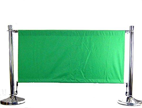 Airbrush-City Abgrenzung Set Windschutz Absperrständer Windschutz Set Sichtschutz D320mm - D51x1000mm Abgrenzungsständer 5ea5d9