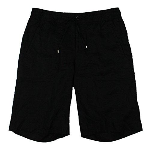 Ralph Lauren Linen Shorts - Lauren Ralph Lauren Womens Linen Drawstring Casual Shorts Black 10