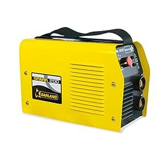 Garland 0005840 Soldador Inverter, 275 mm x 120 mm x 180 mm, 230 V - 10/180 A, 6000 VA: Amazon.es: Industria, empresas y ciencia
