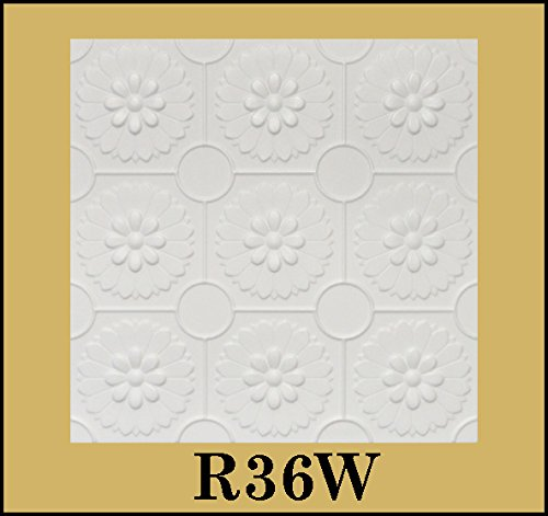 tin-look-glue-up-ceiling-tiles-20x20-styrofoam-extruded-polystyrene-r36w-lot-of-8