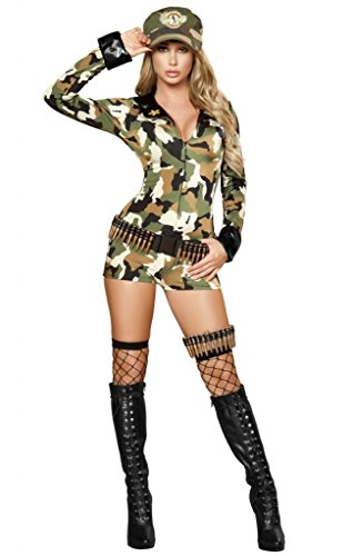 Sexy  (Army General Womens Costume)