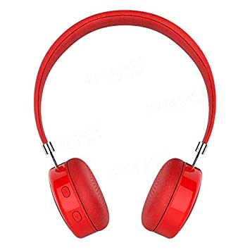 AEC BQ-668 Auriculares HiFi inalámbricos Bluetooth con cancelación de Ruido, Manos Libres, Auriculares intraurales Rosso: Amazon.es: Electrónica