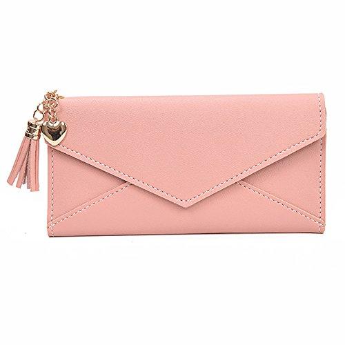 YJYdada Women Fashion Long Wallet Tassel Coin Purse Card Holders Handbag - Reading Glasses Ysl