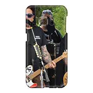 EricHowe Samsung Galaxy S6 Great Hard Phone Cases Allow Personal Design Colorful Bowling For Soup Band Pictures [vQV5453yUUl]