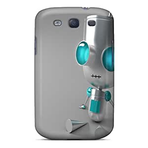 Tpu Kallard Shockproof Scratcheproof Robot Hard Case Cover For Galaxy S3