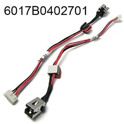 Toshiba Power Cable - DC Jack Power with Cable Harness for TOSHIBA SATELLITE C55 C55T C55D S955 S955D L955 Series 6017B0402701