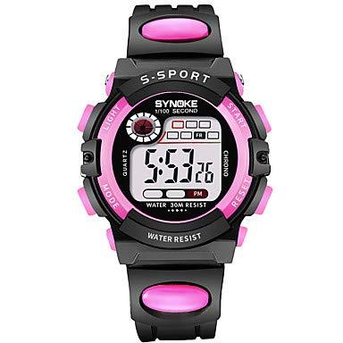Relojes de hombre SYNOKE Mujer Reloj Deportivo Reloj digital Digital 30 m Resistente al Agua Calendario ...