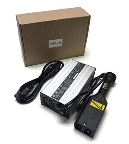 Amazon.com: Cargador de batería para carrito de golf E-Z-GO ...